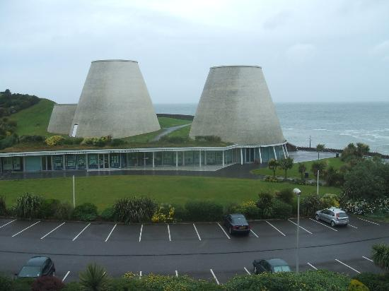 Ilfracombe, UK: NO. IT'S NOT A POWER STATION!