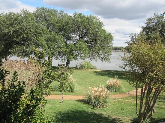 Inn on Lake Granbury: view from patio