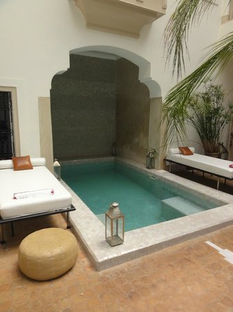 Riad Al Massarah: indoor pool