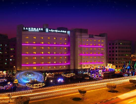 Landmark Grand Hotel night view