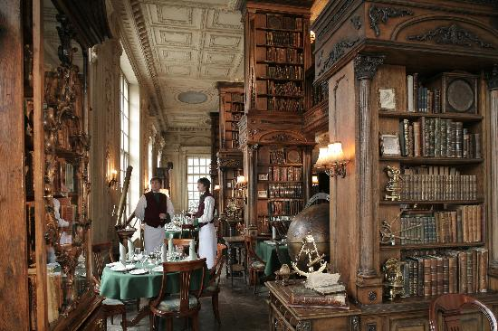 Hall The Library Picture Of Cafe Pushkin Moscow