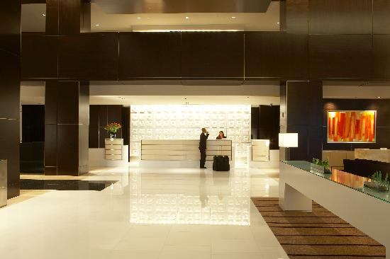 Front Desk at the Loews Atlanta Hotel