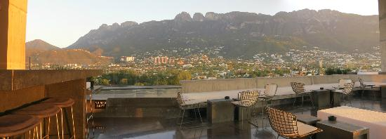 Habita MTY: A view from the top of the Habita.