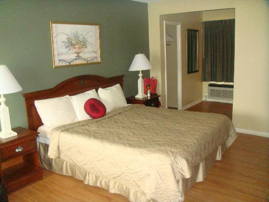 Point Pleasant Manor: King Room- Bed was super comfy!