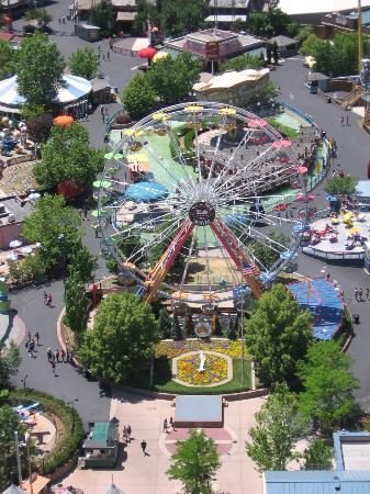 Big Wheel And Flower Clock Picture Of Elitch Gardens