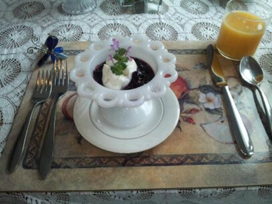1848 Island Manor House: First course - breakfast