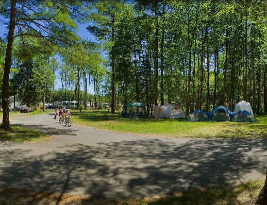 Powder Horn Family Camping Resort: Sites for Tenting