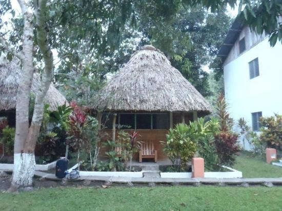 Hotel Tikal Inn: my lovely bungalow