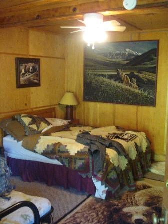 Durrwood Creekside Lodge B&B: Bear room