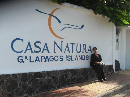 Casa Natura - Galapagos Hotel: Simplicidade de acordo com o lugar