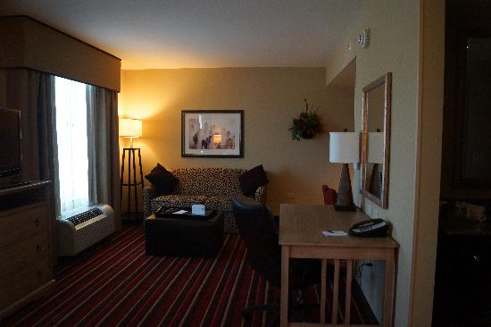 Homewood Suites by Hilton Austin / Round Rock: Living area