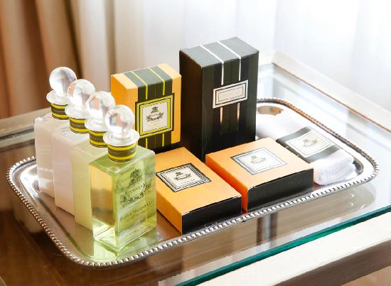 Hotel Drisco: Lovely bath amenities
