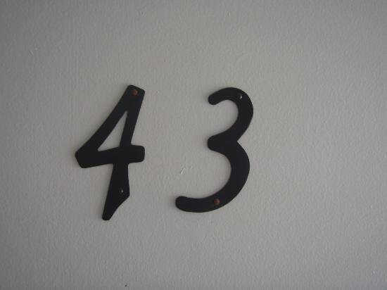 Hermosa Hotel : Room number