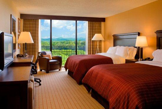 Sheraton Roanoke Hotel and Conference Center: Guest Room