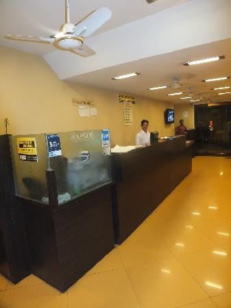 Hotel New Bengal: Reception