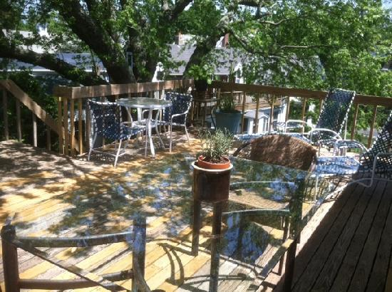The Elephant Walk Inn: Treehouse Deck A