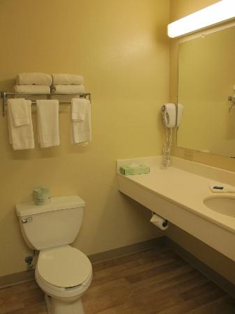 Extended Stay America - Austin - Downtown - 6th St. : bathroom 