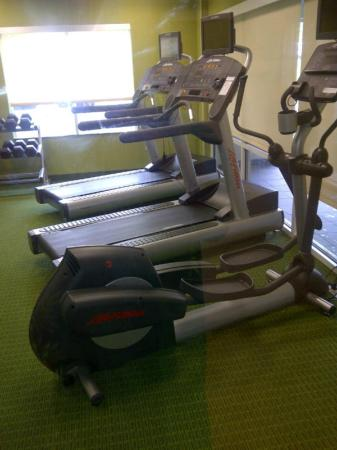 Fairfield Inn & Suites Baltimore BWI Airport: The gym is open 24 hours per day.