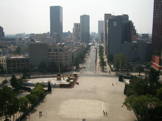 Monumento y Museo de la Revolucion: A view from the observation deck.