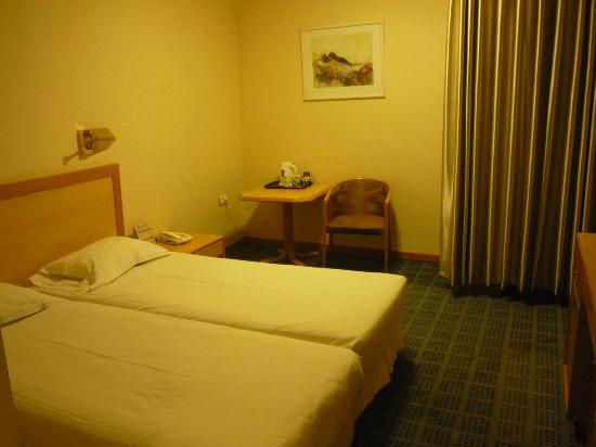 Park Hotel Jerusalem: room with double bed