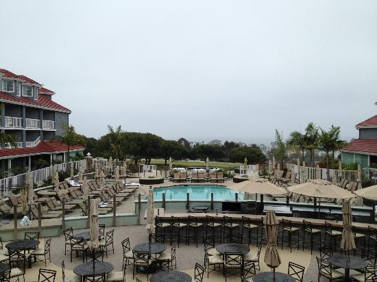 view from our room picture of laguna cliffs marriott. Black Bedroom Furniture Sets. Home Design Ideas