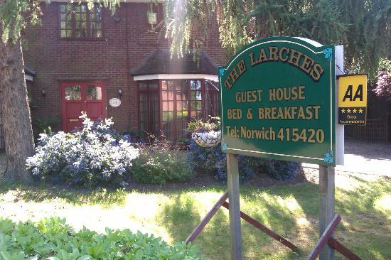 The Larches Guest House Norwich