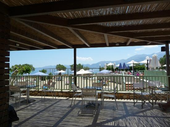 Aquis Silva Beach: Beach bar