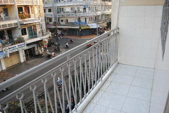 Capitol Guesthouse: Balcony