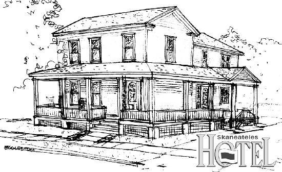 Skaneateles Suites Boutique Hotel: Boutique Hotel Drawing