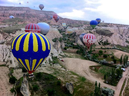cappadocia baloon ride - Picture of Urgup Hot Air Balloons ...