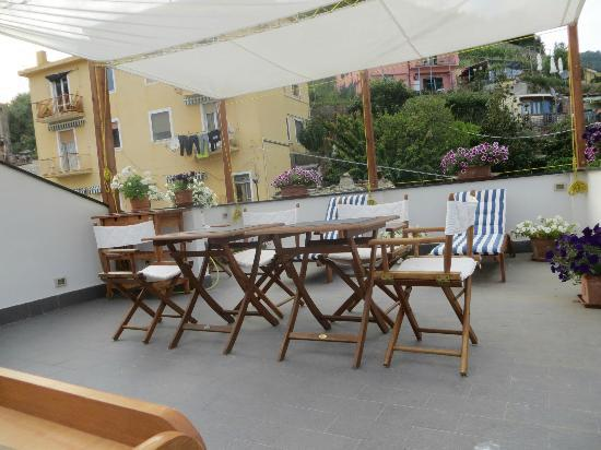 B&B SoleMare: The rooftop!