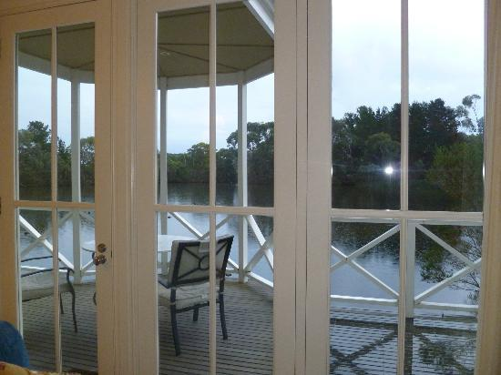Woodman Estate: View from Living Area