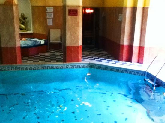 The inside pool picture of the chine hotel bournemouth - Hotels in bournemouth with swimming pool ...
