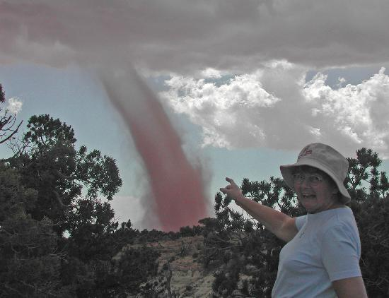 Capitol Reef National Park, UT: Funny turn in the weather