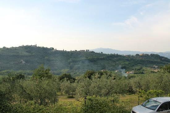 I Due Cipressi Bed and Breakfast: View from B&amp;B