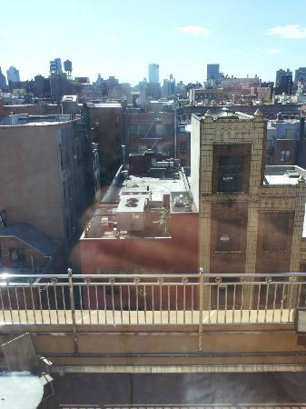 Comfort Inn Lower East Side: view from the deck looking West