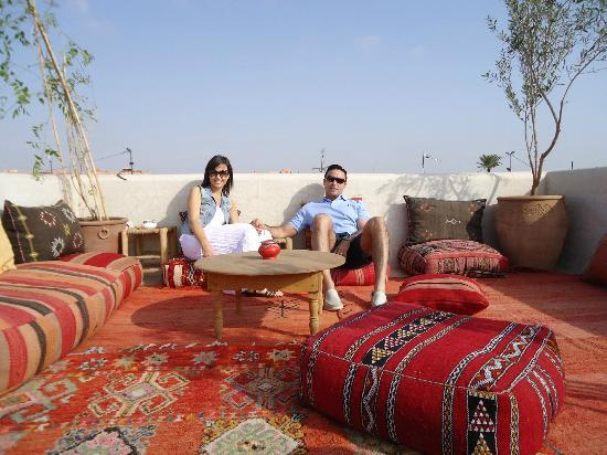 Riad Shambala: Terracita chill out