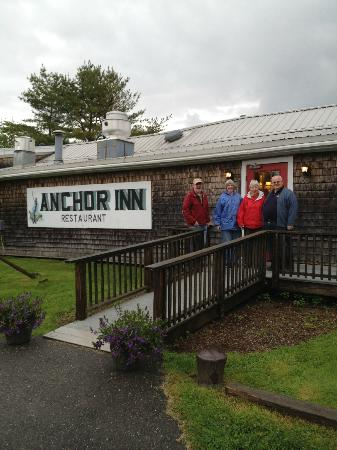 Anchor Inn, Round Pond, ME Front Entrance