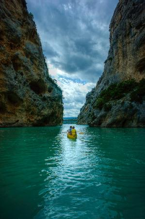 Location kayak gorges verdon