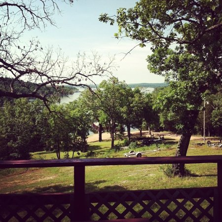 Antler's Resort and Campground: view from our deck