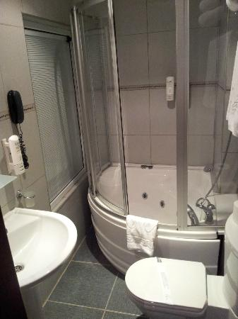 Tria Elegance Istanbul: They provide hairdryer and liquid soap
