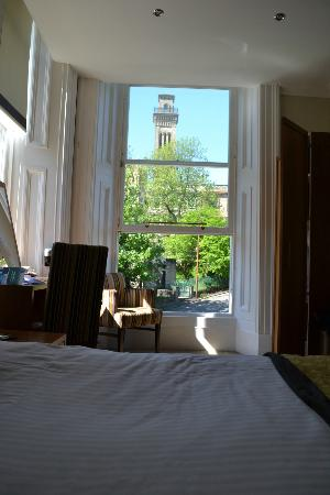 Acorn Hotel: view from the bed