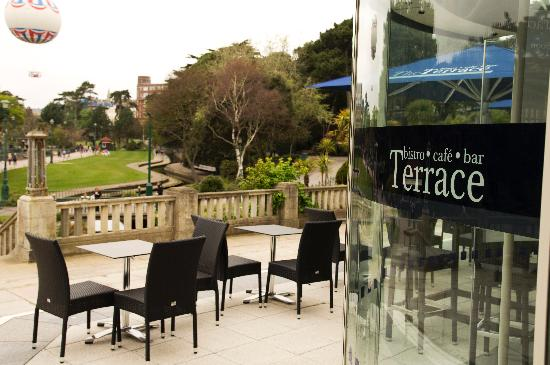 10 best british restaurants in bournemouth tripadvisor for Use terrace in a sentence