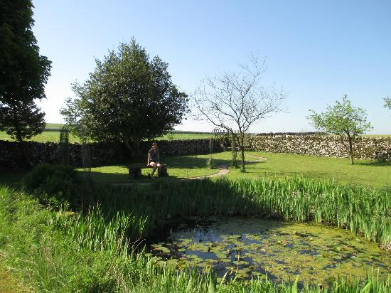 The Smithy: Garden area behind hote.