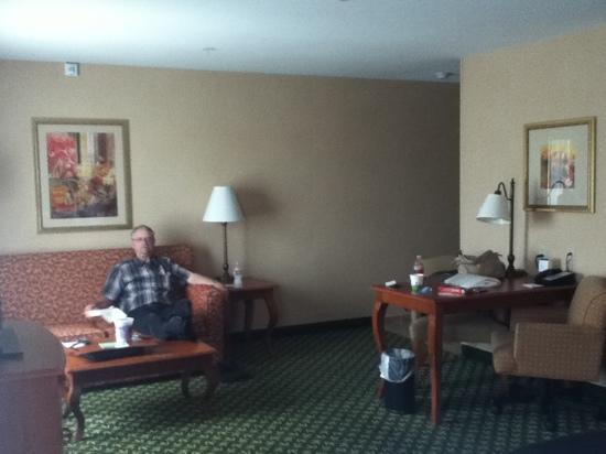 Hampton Inn & Suites Clovis - Airport North: big room