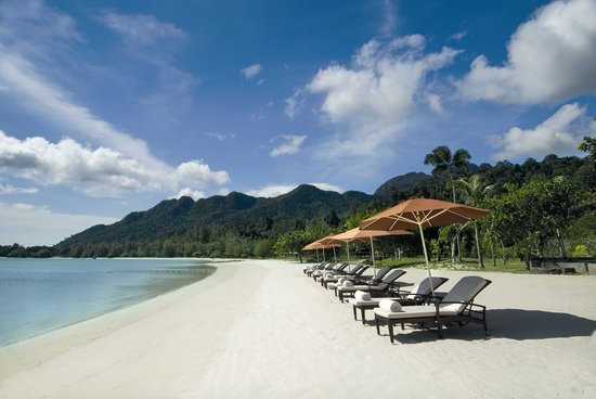 The Danna Langkawi, Malaysia: Beach