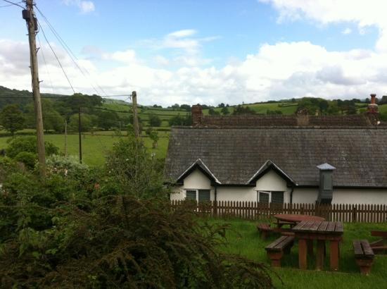 View Of Our Room From Beer Garden Picture Of Sandy Park Inn Chagford Tripadvisor