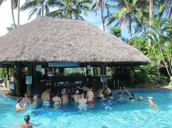 The Main Pool And The Pool Bar Picture Of Hamilton Island Whitsunday Islands Tripadvisor