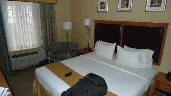 Holiday Inn Express NYC Madison Square Garden: Bed