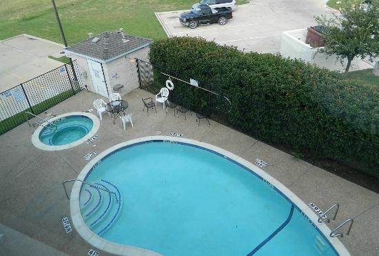 Microtel Inn & Suites by Wyndham Ft. Worth North/At Fossil Creek: View from my room